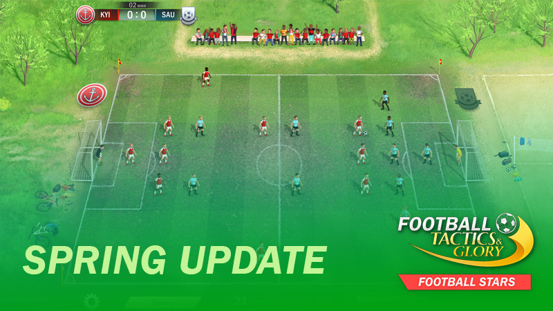 Spring Update of Football Stars