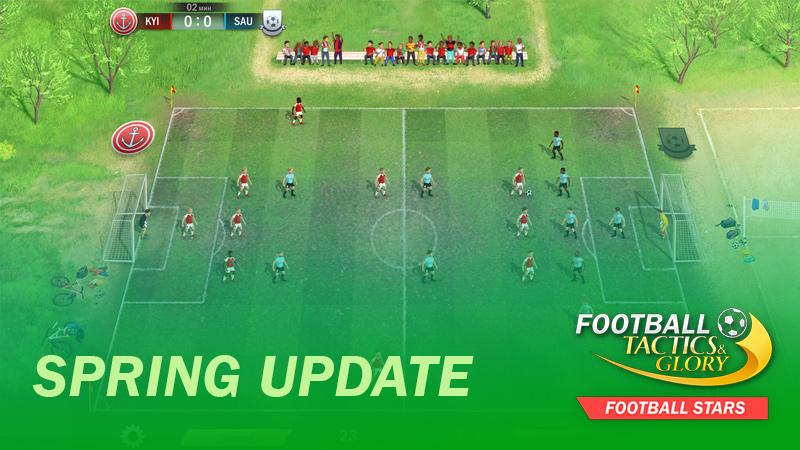 Spring Update of Football Stars
